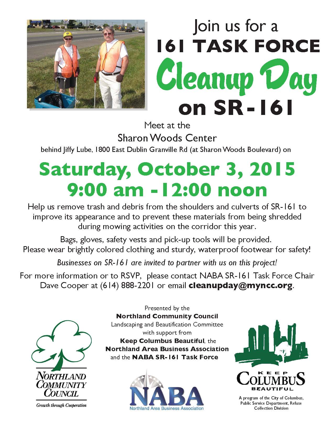 161 Clean Up Day October 3 2015