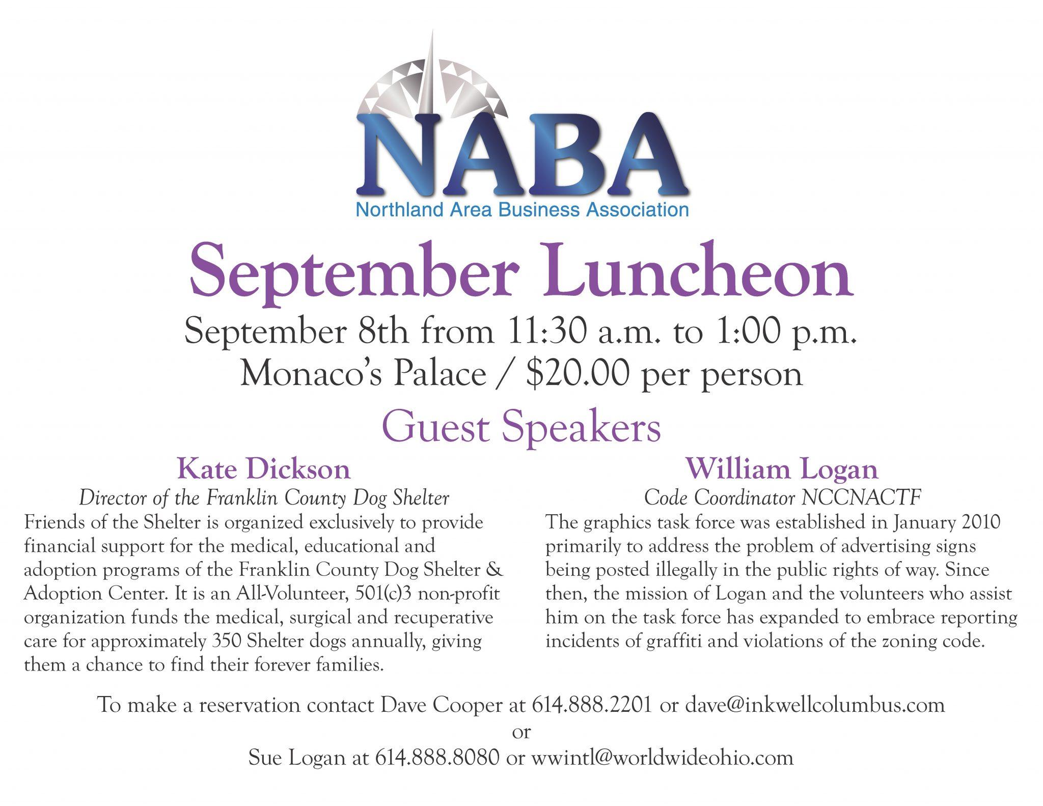 NABA September luncheon slide