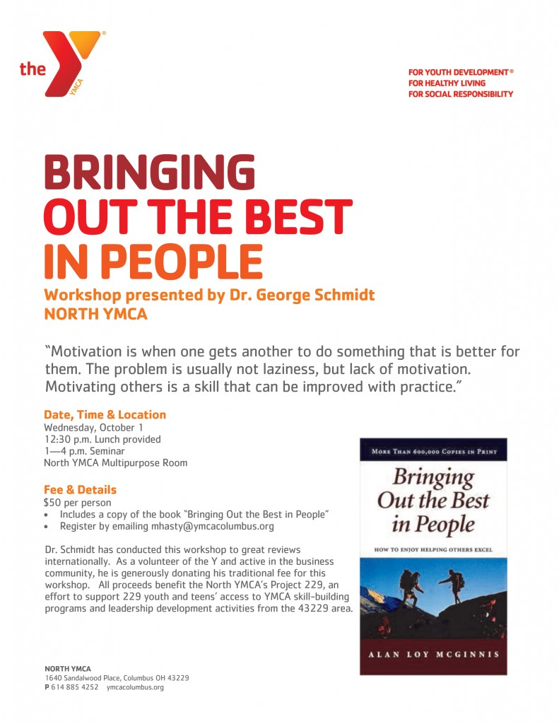 NABA Bringing Out the Best In People Workshop - Northland Area Business  Association